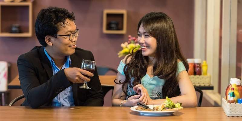 Dating eines niederschwelgen Mannes